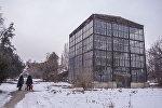 Бишкектеги Ботаникалык бак. Архивдик сүрөт