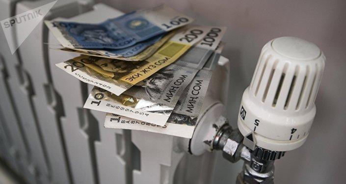 Деньги на батареи отопления. Архивное фото