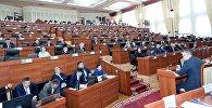 Депутаты на заседании парламента. Архивное фото