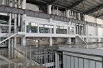 Главный корпус новых энергоблоков ТЭЦ города Бишкек. Архивное фото