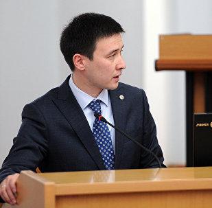 Улуттукэнергохолдингдин мурдагы башчысы Айбек Калиев. Архив