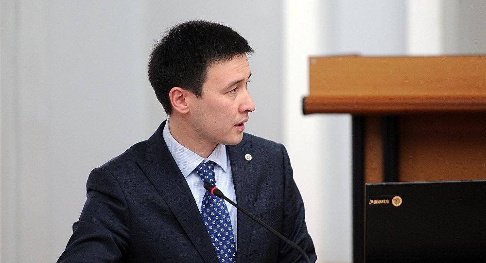 Улуттук энергетикалык холдинг компаниясынын жетекчиси Айбек Калиев