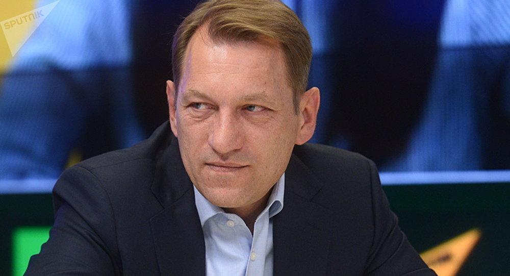 Архивное фото заместителя главного редактора МИА Россия сегодня Андрея Благодыренко