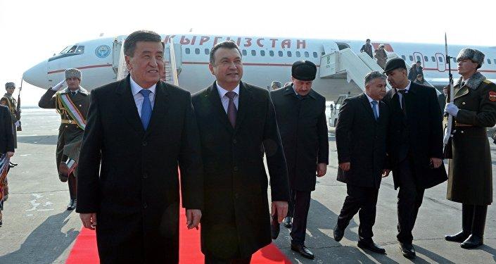 Официальный визит президента КР Сооронбая Жээнбекова в Таджикистан