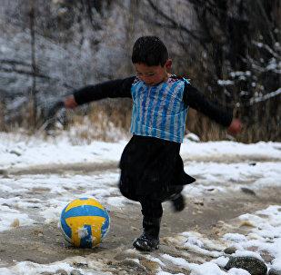 Мальчик Муртаза из Афганистана