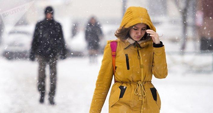 Сулиц столицы убрали рекордное количество снега