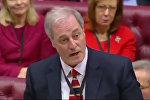 Британский лорд подал в отставку из-за опоздания — видео выступления