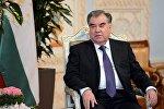 Таджикистандын президенти Эмомали Рахмон. Архив