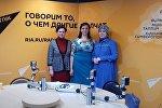 Дизайнер, основатель бренда Ирада, блогер Амина Шабанова (справа)
