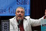 Кубанын мурдагы лидери Фидель Кастронун улуу баласы, илимдин доктору Анхель Кастро Диас-Баларт. Архив