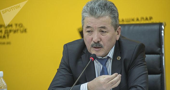 Финансы министри Адылбек Касымалиев