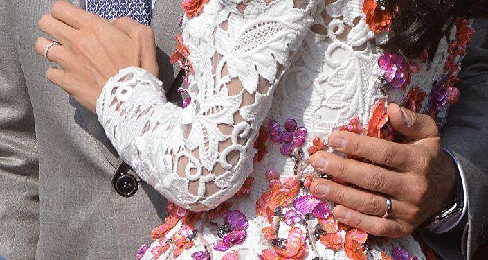 Свадьба Джорджа Клуни и Амалы Аламуддина