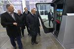 Путин собрал урожай на симуляторе комбайна в Ростове-на-Дону