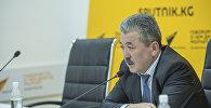 Министр финансов КР Адылбек Касымалиев