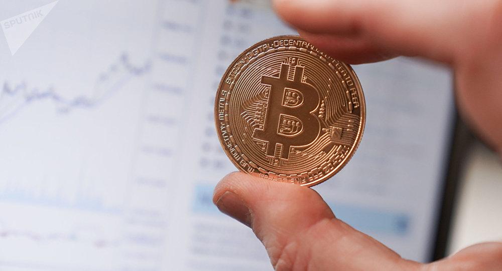 Криптовалюта биткоин. Иллюстративное фото