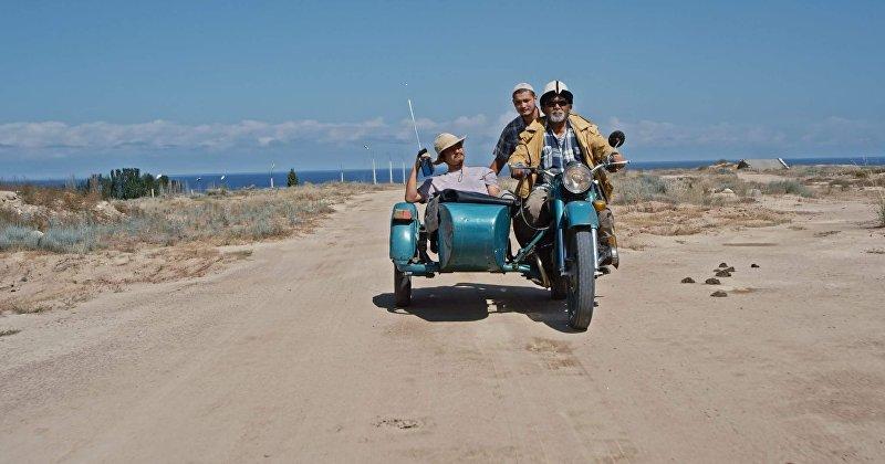 Кадр из фильма кыргызского режиссера Темира Бирназарова Тунку кырсык (Ночная авария)