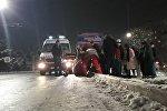 В субботу в столице на улице Токомбаева произошел наезд на пешехода