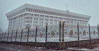 Первые картинки настоящей зимы в Бишкеке