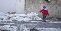 Дети на улице. Архивное фото