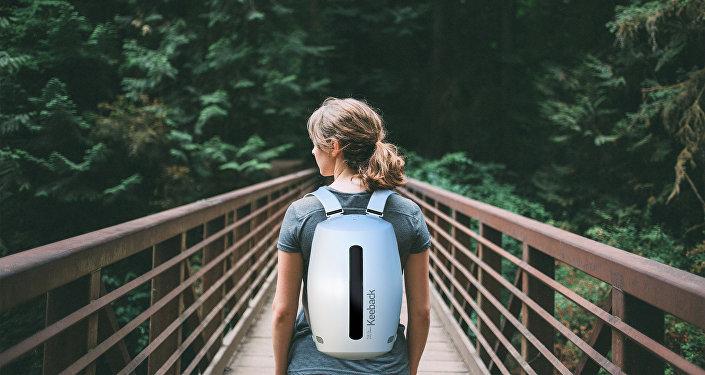 Проект уникального рюкзака придуманный дизайнером Олегом Ермаковым
