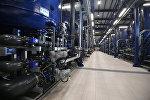 Очистные сооружения на нефтеперерабатывающем заводе. Архивное фото