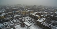 Вид на здания мэрии Бишкека. Архивное фото