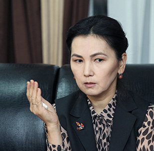 Экс-депутат Жогорку Кенеша Аида Салянова. Архивное фото