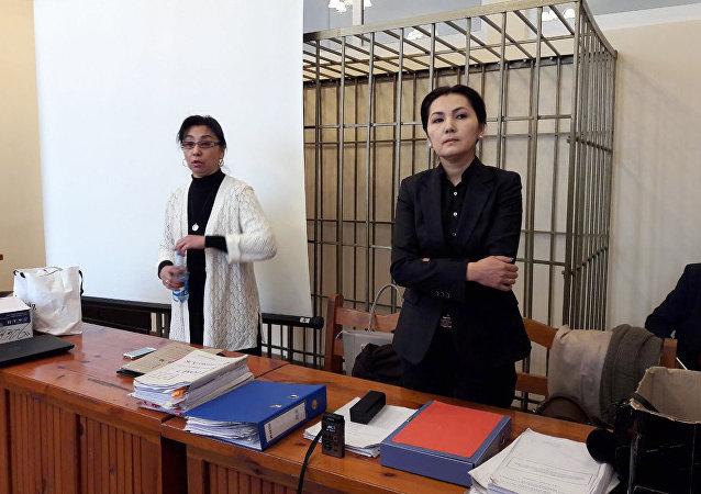 Экс-депутат Аида Салянованын архивдик сүрөтү