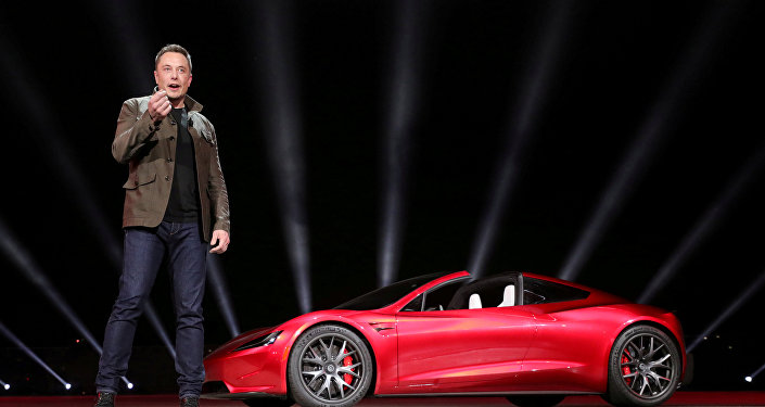 Архивное фото руководителя компании SpaceX Илона Маска