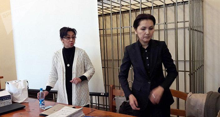 Экс-башкы прокурор Аида Салянова. Архив