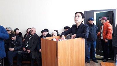 Архивное фото экс-депутата Жогорку Кенеша КР Аиды Саляновой