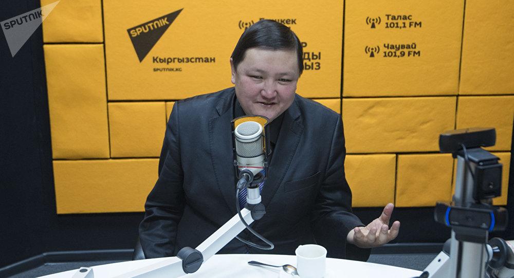Драматург Кайрат Иманалиев