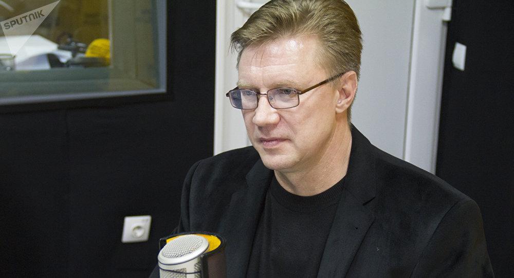 Директор ТЭЦ Бишкека Андрей Воропаев. Архивное фото