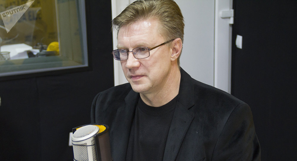 Бишкек ТЭЦинин директору Андрей Воропаев. Архив