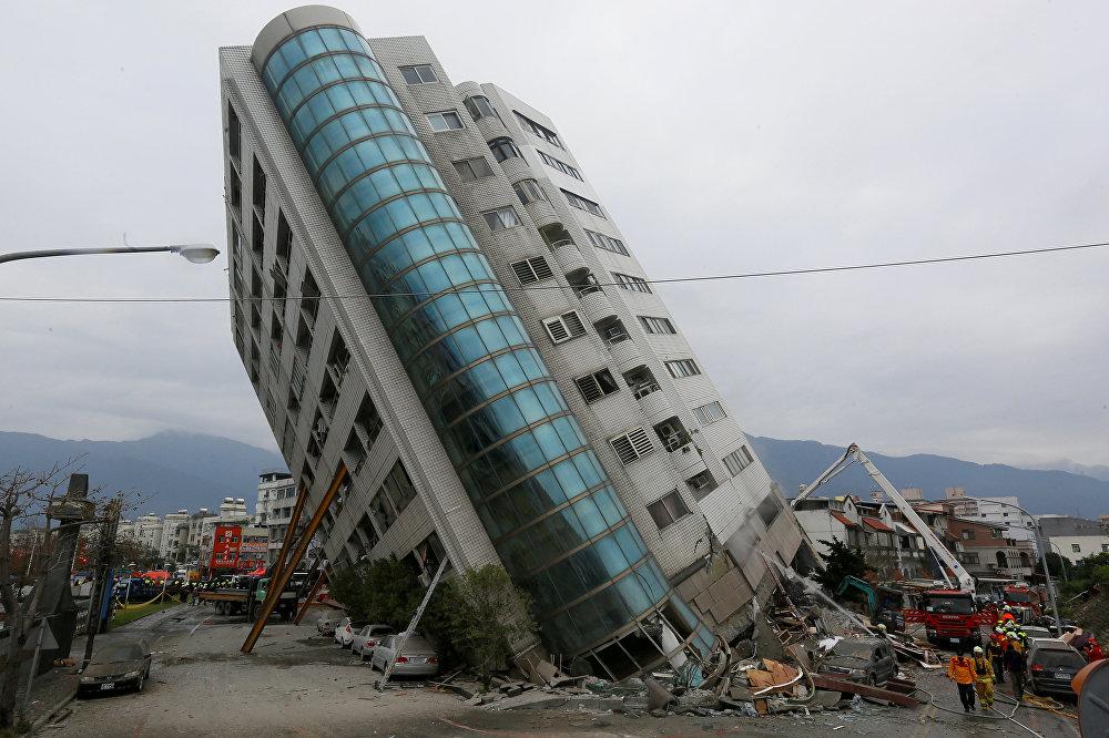 Тайванда магнитудасы 6,5ге жеткен жер титиреп, 16 киши каза болуп, 280 киши жаракат алса, эки киши дайынсыз