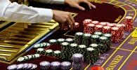 Крупье в казино. Архивное фото