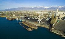Город Балыкчи. Архивное фото