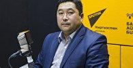 Кыргызстандын Улуттук электр тармагынын долбоорлорду ишке ашыруучу тобунун башчысы Рустанбек Раимкулов. Архив