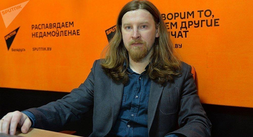 Политический эксперт, философ Алексей Дзермант. Архивное фото