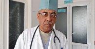 Ош облустар аралык балдардын бириккен ооруканасынын Анестезиология жана реанимация бөлүмүнүн башчысы Абдразак Камилов