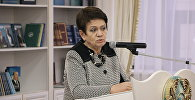 Президент Союза детских общественных организаций Казахстана Жулдыз Елена Дмитриенко. Архивное фото