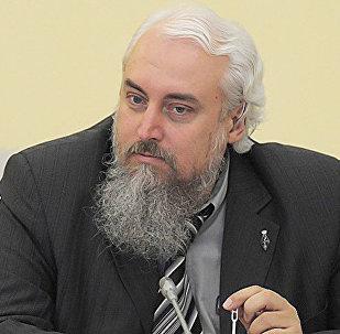 Кандидат исторических наук, политолог Михаил Смолин. Архивное фото