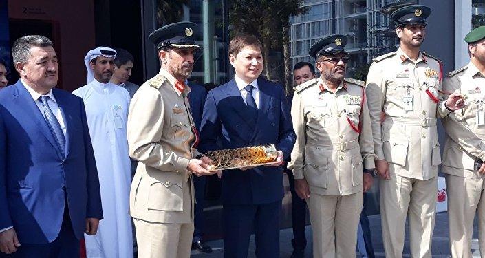 Премьер-министр Сапар Исаков с рабочим визитом находится в ОАЭ, где принимает участие в работе Всемирного саммита правительств