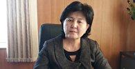 Ош шаардык социалдык өнүгүү башкармалыгынын башчысы Батина Токобаева