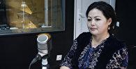 Журналист, продюсер телеканала Маданият, тарых, тил Назира Аалы кызы