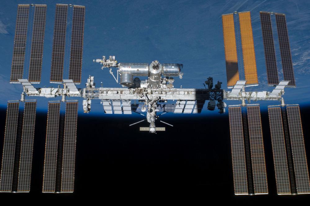 Эл аралык космостук станциянын көрүнүшү