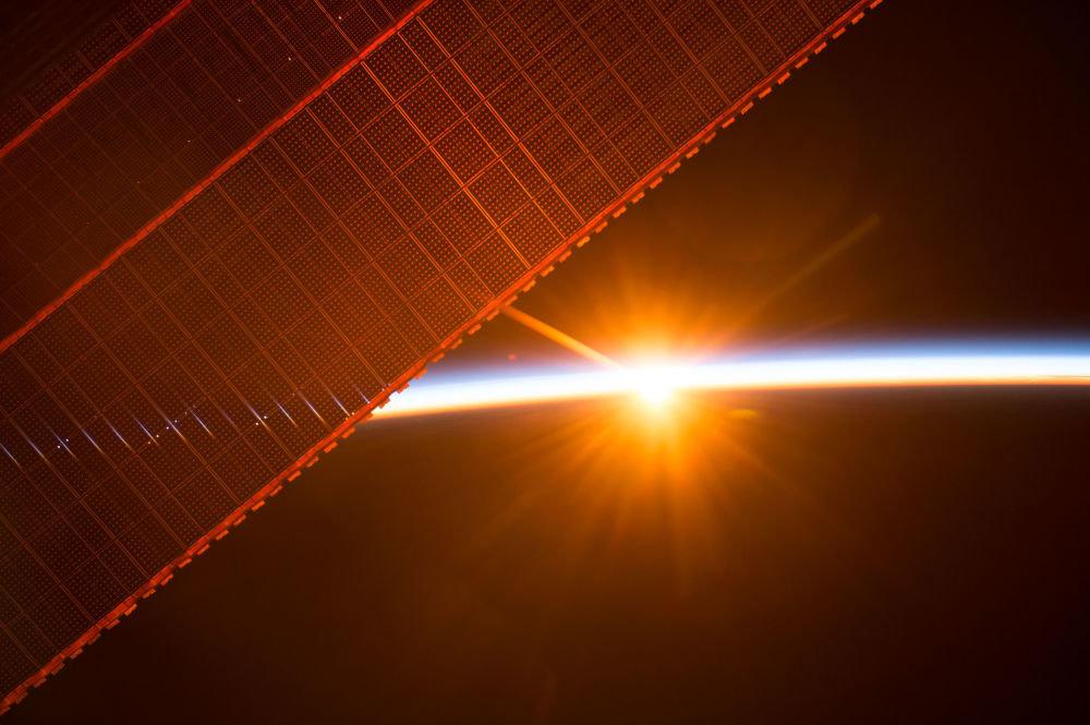 Снимки с Международной космической станции