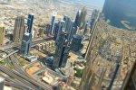 Вид на город Дубай. Архивное фото