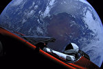 SpaceX компаниясы космоско учурган Tesla Rodster автоунаасы