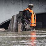 Угроза наводнения в Париже